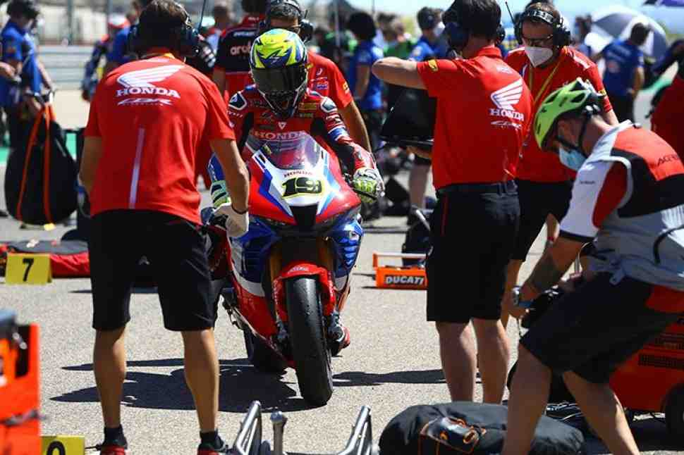 WSBK: ������� �������� ������ ���� ��� ������ �� Superpole Race, �� ������ �� ����� � �����