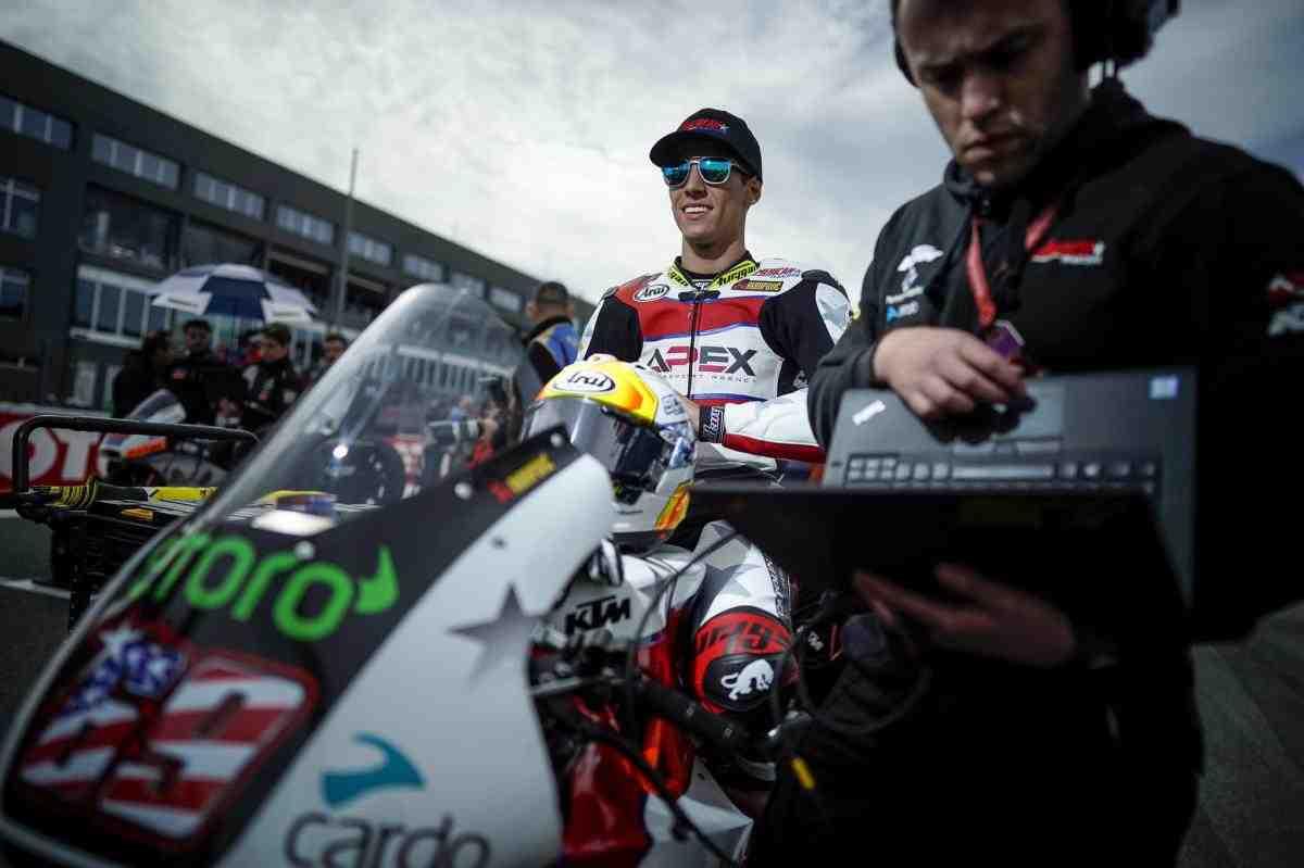 Еще один американец вступает в Moto2: воспитанник Джона Хопкинса - Шон Дилан Келли
