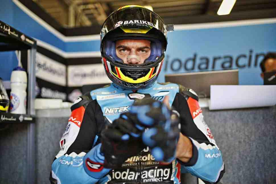 WSBK: Де Анжелис покинул IODA Racing ради работы в Pedercini Kawasaki