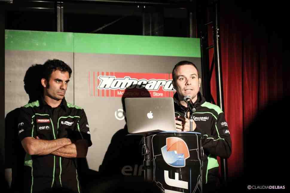 WSBK: Добро пожаловать или видео-тур по закулисью Kawasaki Racing Team