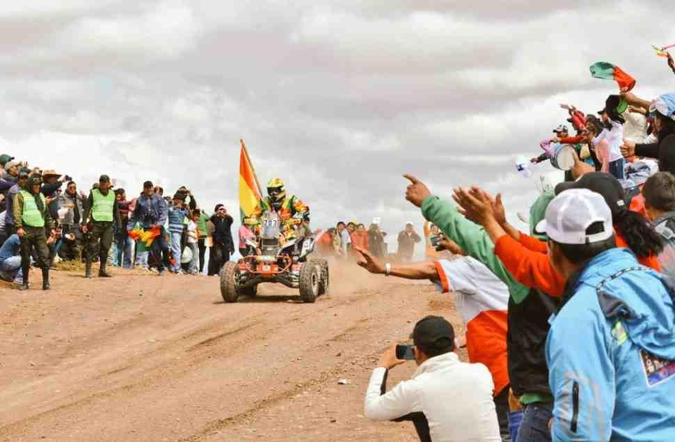 Дакар-2017: Президент Боливии лично поздравил Вальтера Носилью с домашней победой