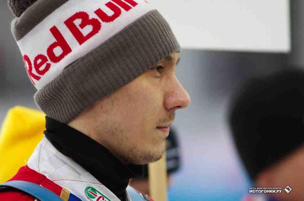 Даниил Иванов выиграл отборочный этап FIM Ice Speedway Galdiators 2017