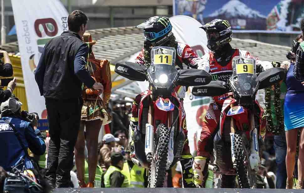 Цель Honda осталась прежней - выиграть Дакар-2017