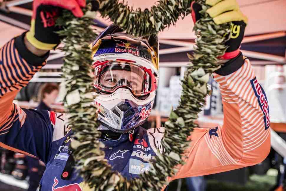 Дакар-2017: Сэм Сандерленд объяснил, что общего у Dakar и MotoGP