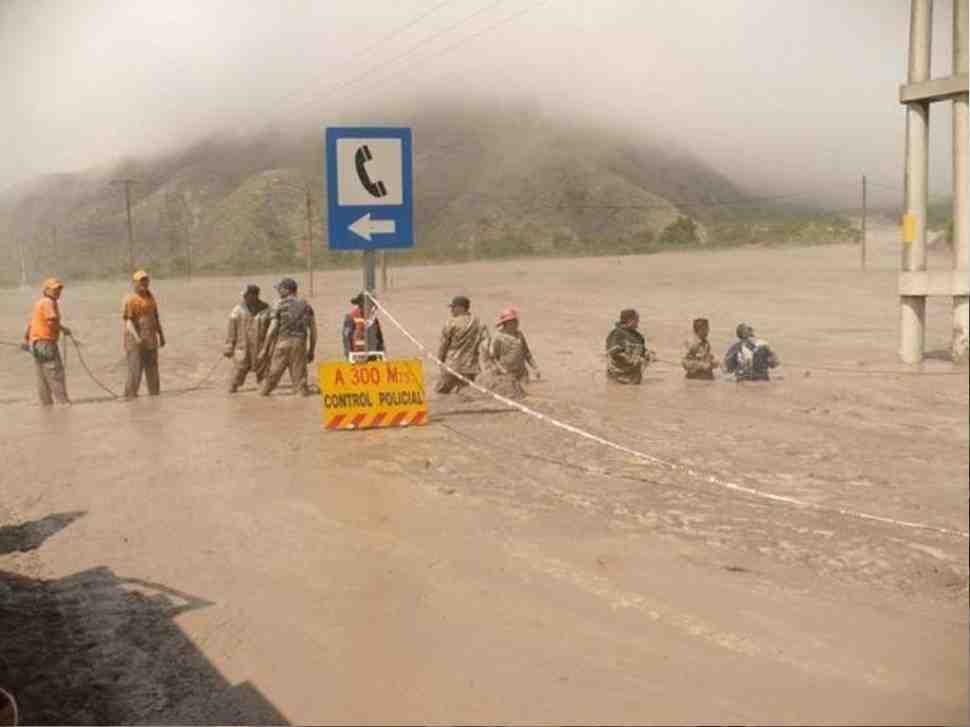 9 этап ралли-марафона Дакар-2017 отменен из-за оползня и наводнения