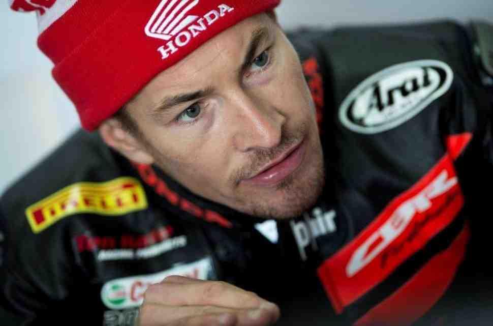 WSBK: Хейден опробует готовый к бою Honda CBR1000RR SP2 в январе