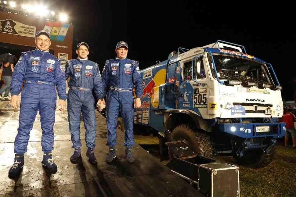 Эдуард Николаев (КАМАЗ-Мастер) выигрывает ралли Дакар-2017- Итоги