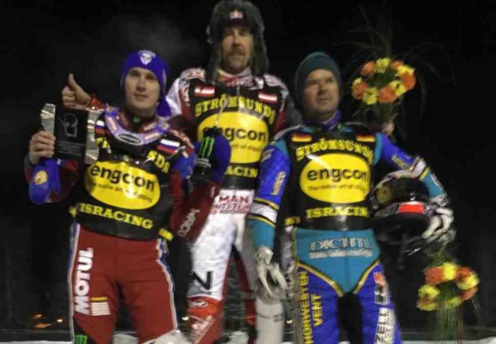Франц Цорн выиграл второй отбор FIM Ice Speedway Galdiators 2017