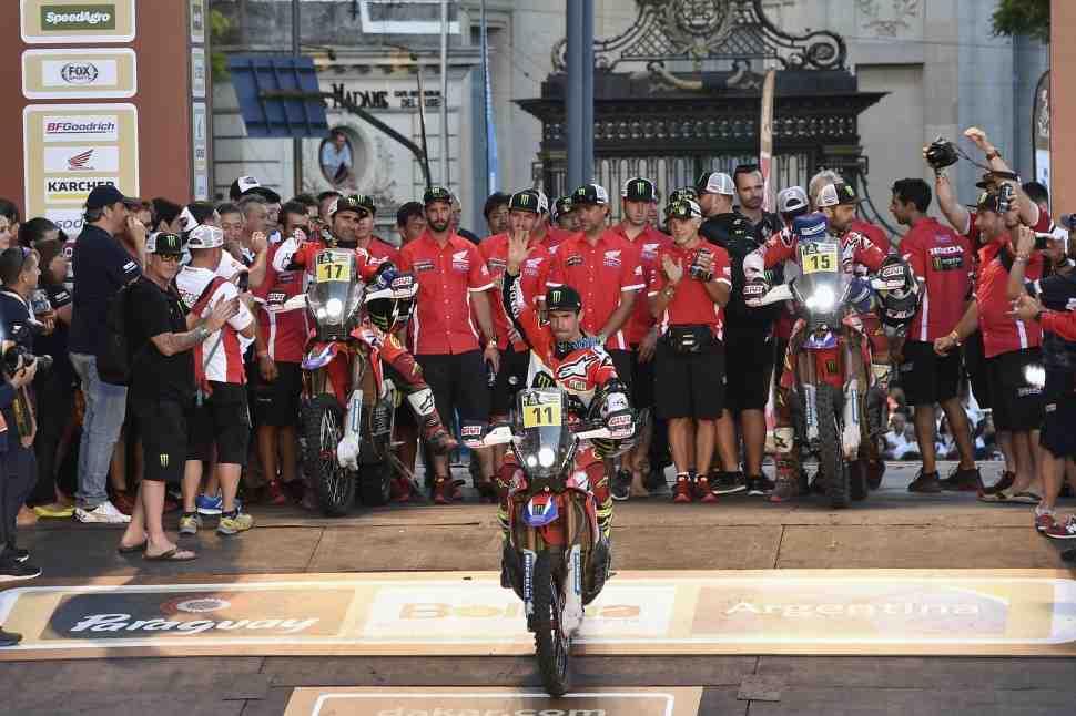 Итоги Дакар-2017: Honda Racing - Миссия, в целом, выполнена