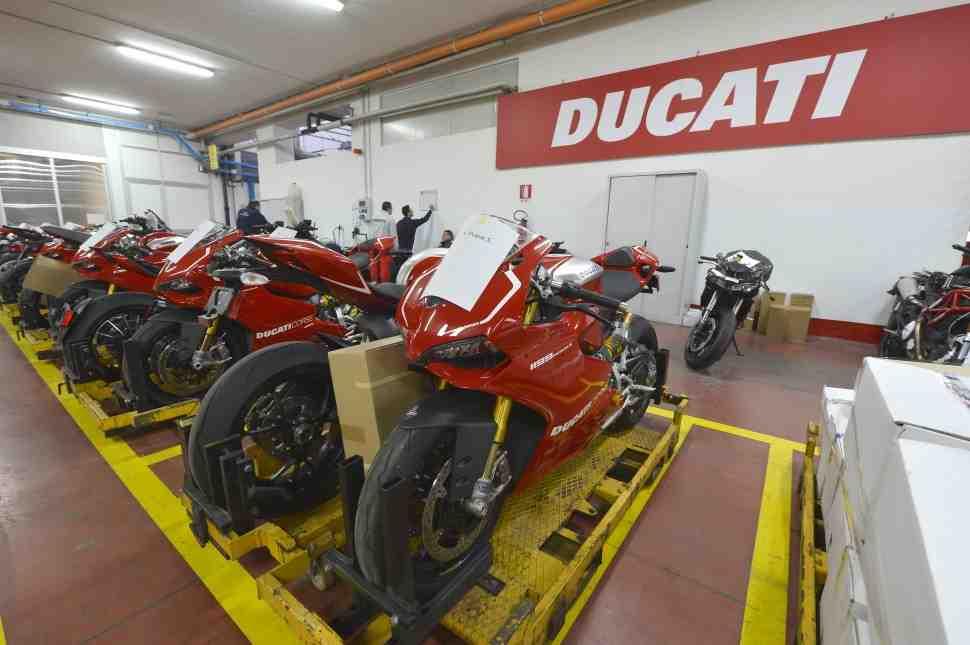 В Ducati подвели итоги 2016 года: продан 55451 мотоцикл - новый рекорд