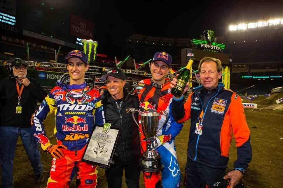 Чемпионат Мира/Ama Supercross: результаты 3 этапа - Anaheim