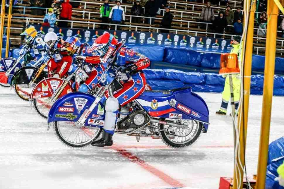Списки участников первого финала FIM Ice Speedway Gladiators 2017, Тольятти