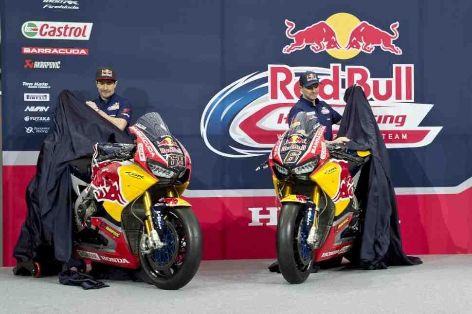 Honda Racing привела Red Bull в World Superbike
