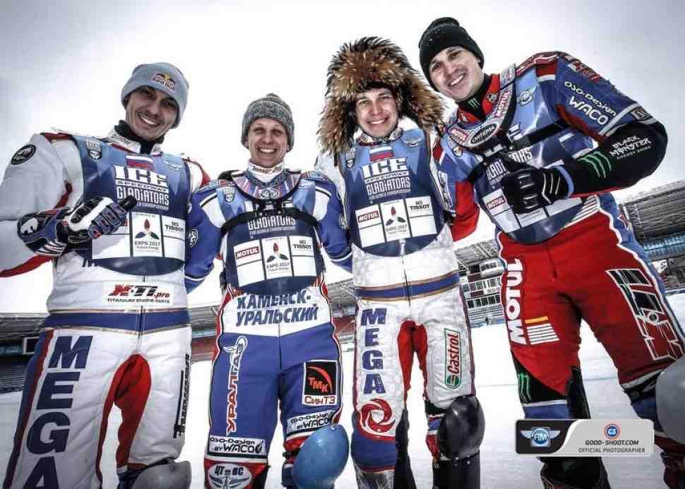 FIM Ice Speedway Gladiators: финал 2 в Шадринске