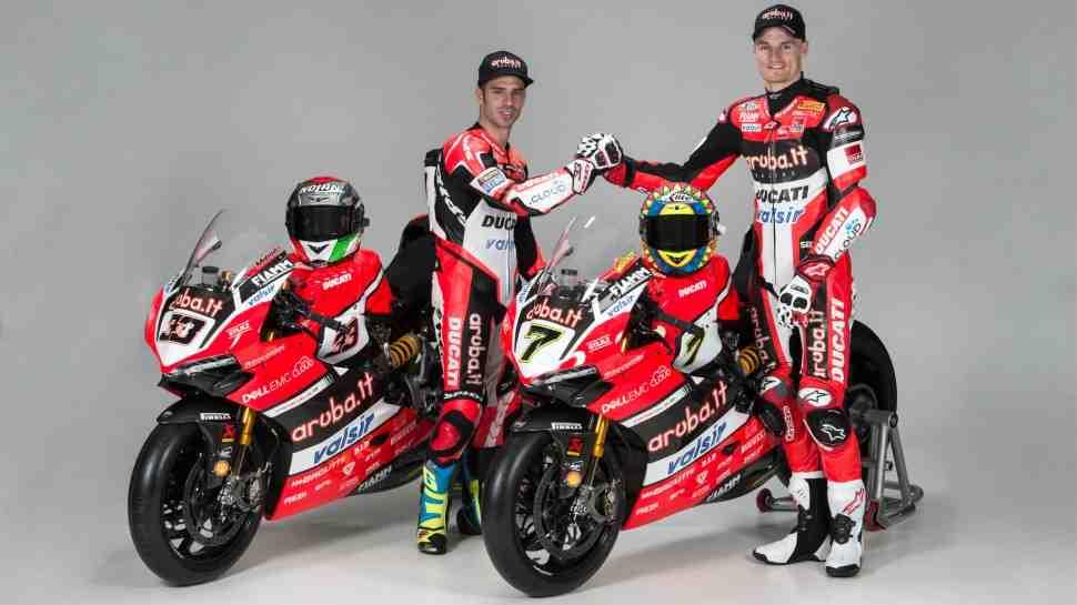WorldSBK: пилоты и ливреи Aruba.it Racing – Ducati