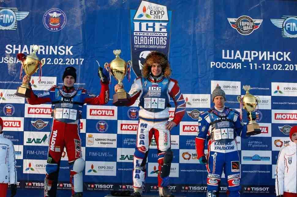 FIM Ice Speedway Gladiators: первые результаты финала 2 в Шадринске