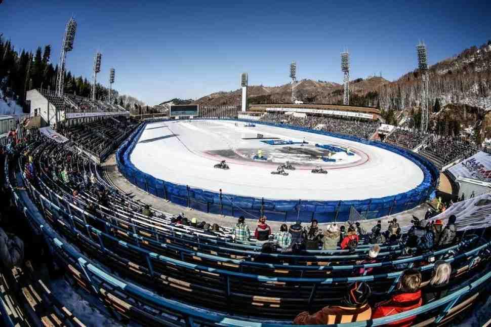 FIM ICE Speedway Gladiators - этап в Казахстане стартовал