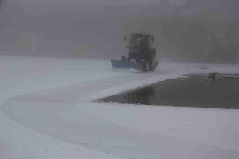 Первый день 3-го финала FIM Ice Speedway Gladiators сокращен из-за погоды