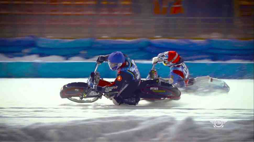 FIM Ice Speedway Gladiators: полное видео гонок в Шадринске