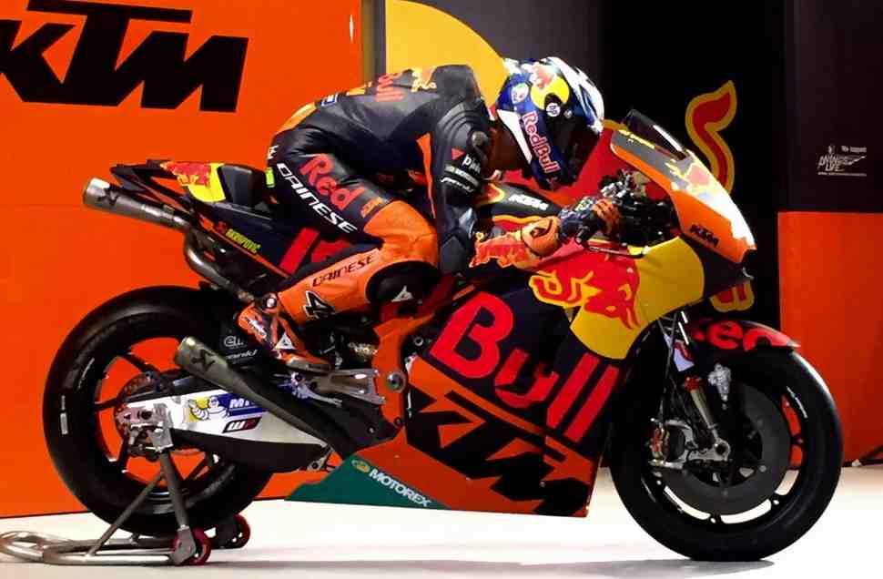 Гоночная программа KTM Factory Racing в MotoGP официально представлена