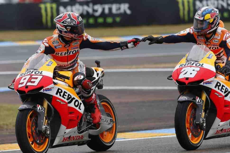 MotoGP: Repsol Honda запросила дополнительные тесты у IRTA