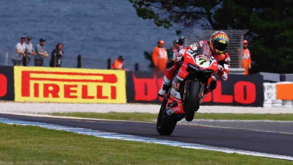 WSBK: Ducati и Kawasaki возглавили квалификационный список в Phillip Island