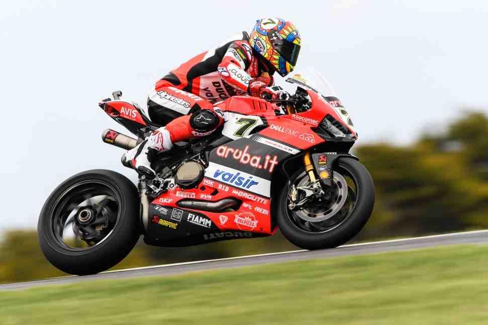 WSBK: Ducati возглавляет AUSWorldSBK на пути к первой гонке сезона