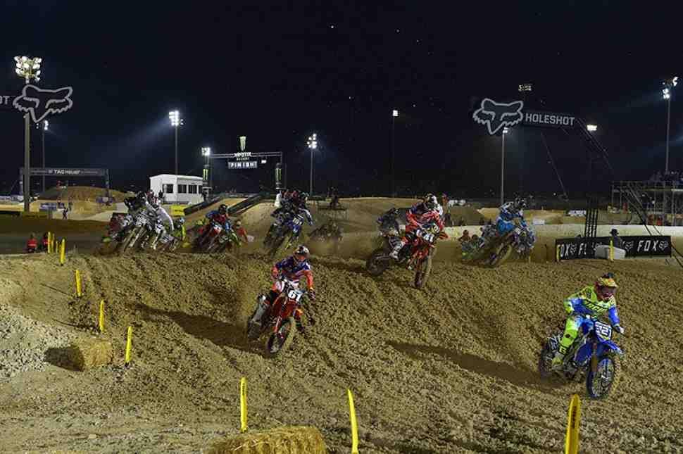 Мотокросс: квалификации Чемпионата Мира MXGP/MX2 - видео из Катара