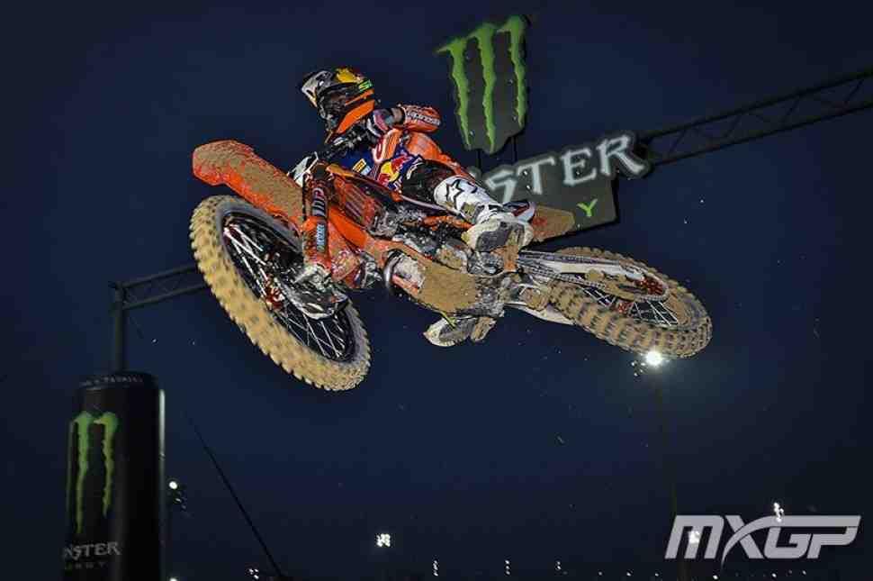 Мотокросс: второй заезд MX2 в Катаре - победный дубль Йонаса