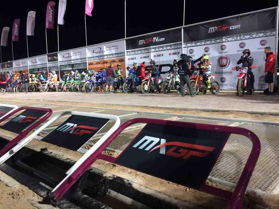 Мотокросс: победа Кайроли в Гран-При Катара MXGP - второй заезд