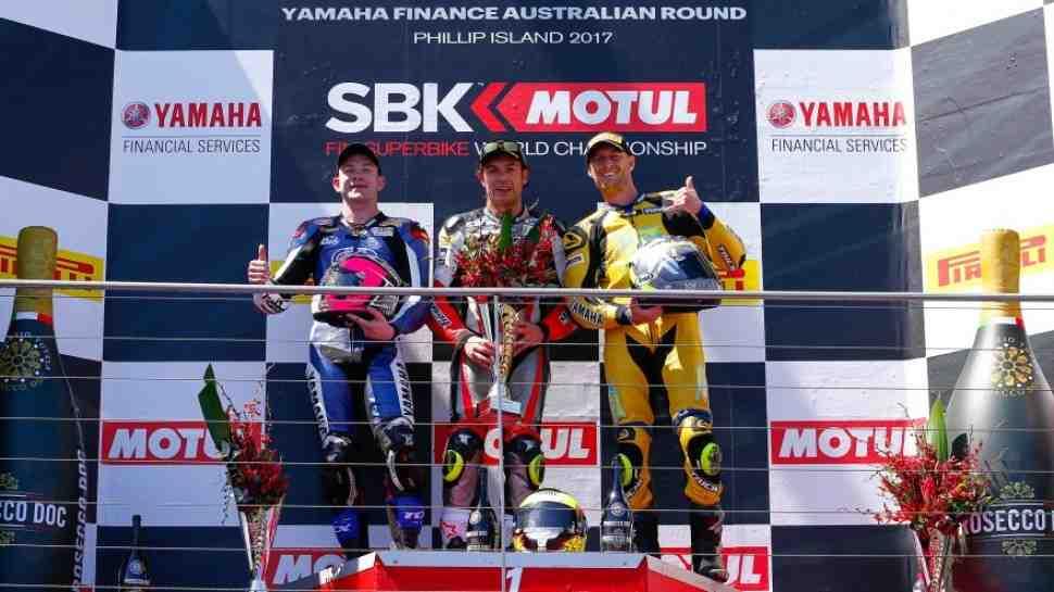 WSS: Результаты первой гонки сезона в Phillip Island