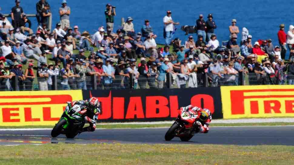 WSBK: Результаты 2-й гонки в Phillip Island