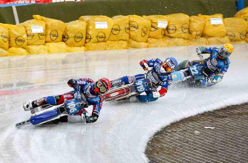 Полные результаты 4-го финала FIM Ice Speedway Gladiators 2017 (Берлин)