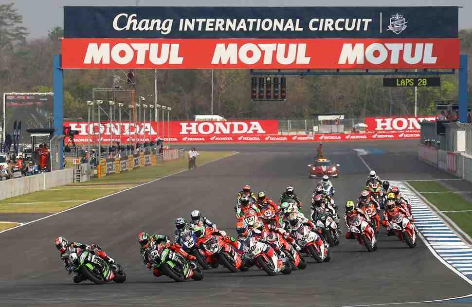 WSBK: Технический анализ Chang International Circuit, Тайланд