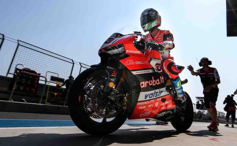 WSBK: Решетка 2й гонки ThaiWorldSBK - Меландри стартует с поул-позиции