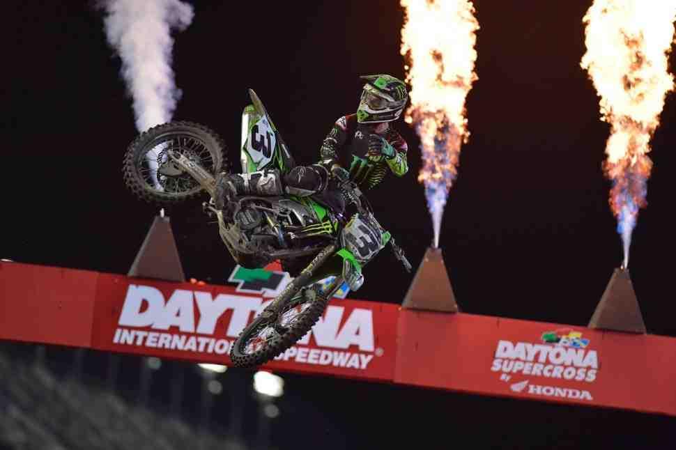 Суперкросс: победный дубль Kawasaki в Дайтоне - 10-й этап чемпионата Мира/Америки