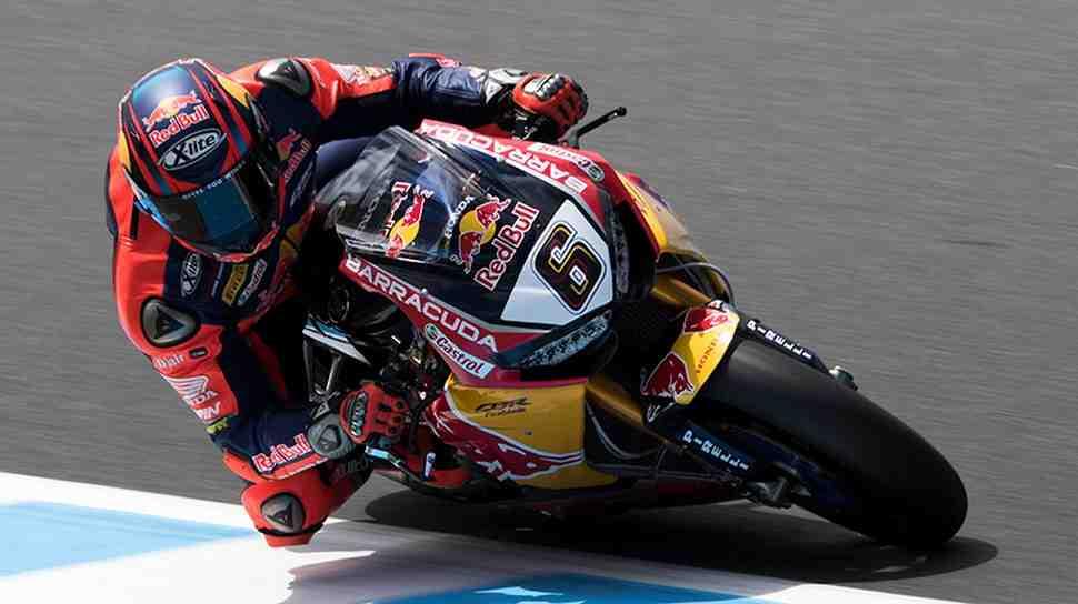 WSBK: Honda с нетерпением ждет результатов в Арагоне