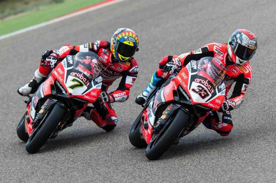 WSBK: Арагонский уикенд начался для Ducati с проблем