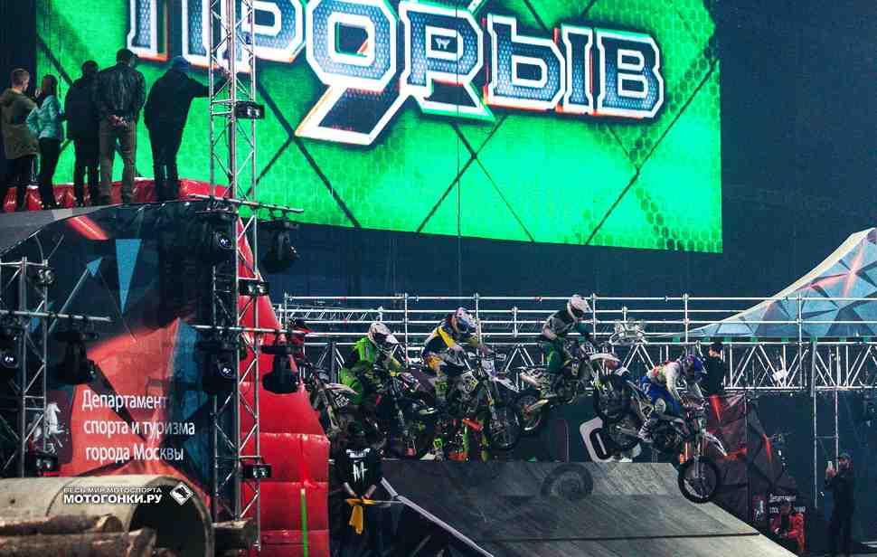 ПРОРЫВ-2017: Эндуро-кросс - комментарии организатора и круг по трассе