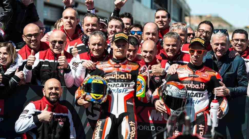 WSBK: Ducati - День, который мы не забудем: сезон перезапущен?