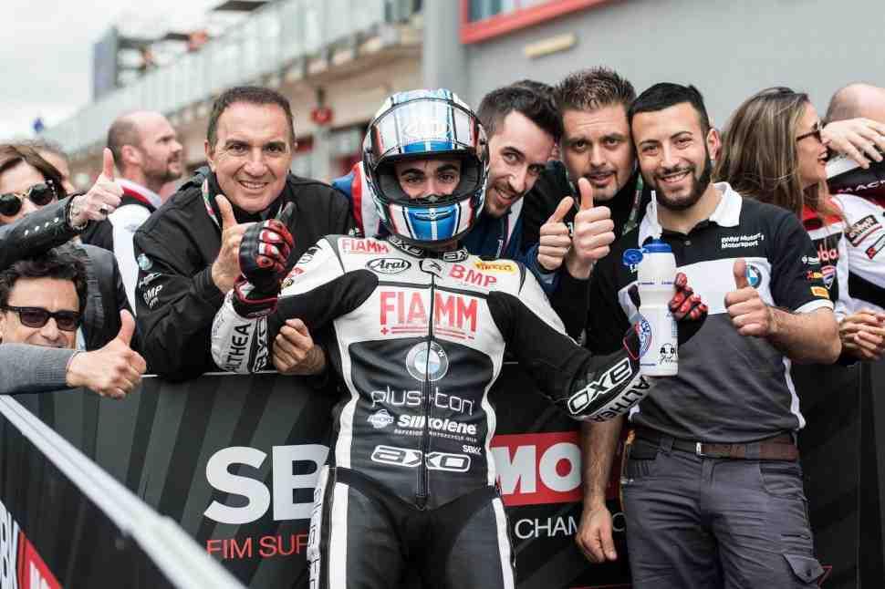 WSBK: Пасхальный подарок для Рафаэля Де Росы - место в Althea BMW Racing