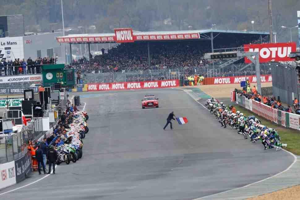 FIM EWC: 24 Heures Moto - Юбилейный 40-й Мотоциклетный Ле-Ман 24 стартовал!