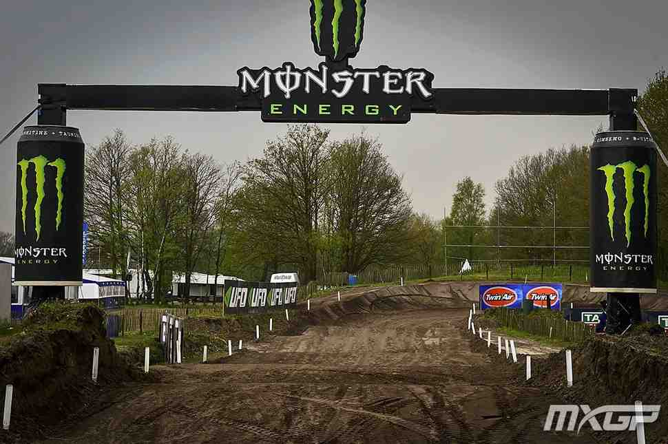 Мотокросс: круг по трассе Гран-При Европы MXGP/MX2 - Валькенсваард