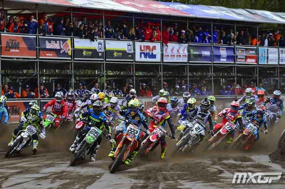 Мотокросс: Готье Полен и Паульс Йонасс - победители Гран-При Европы MXGP/MX2