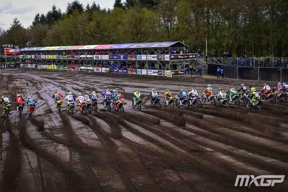 Мотокросс: лучшие моменты Гран-При Европы MXGP/MX2
