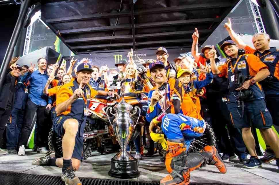 Суперкросс: результаты 17 этапа Чемпионата Мира/AMA - финал в Лас-Вегасе