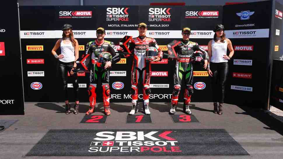 WSBK: Результаты квалификации Superpole в Imola Circuit