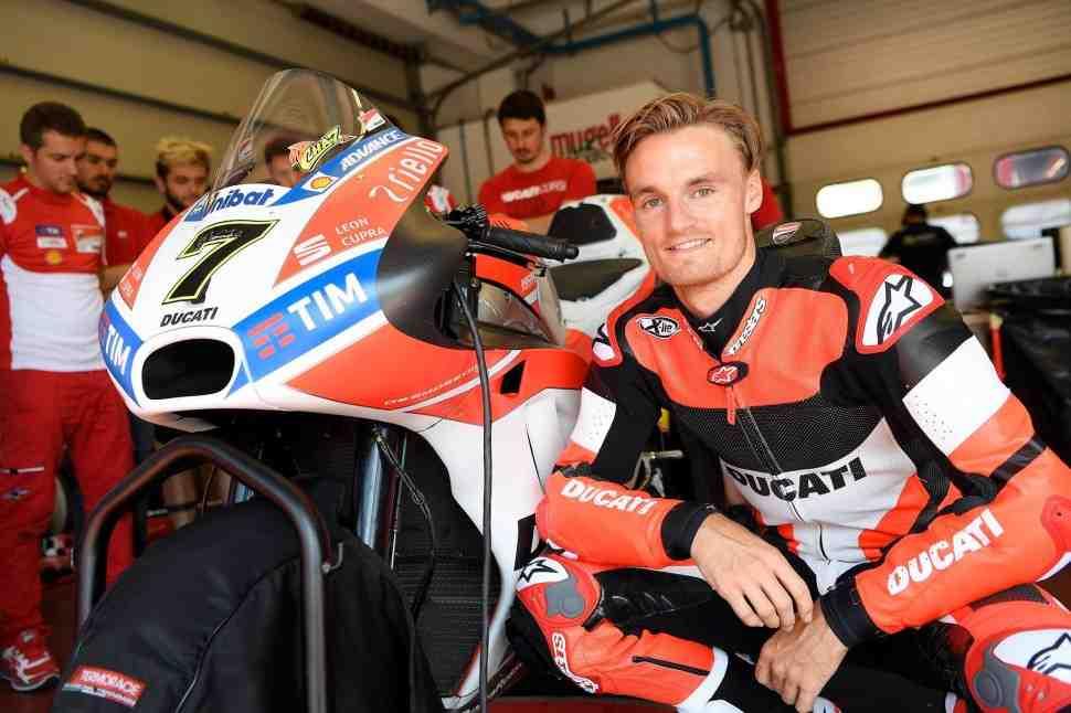 WSBK: Чаз Девис - о тестах в MotoGP и отношениях с Джонатаном Рэем
