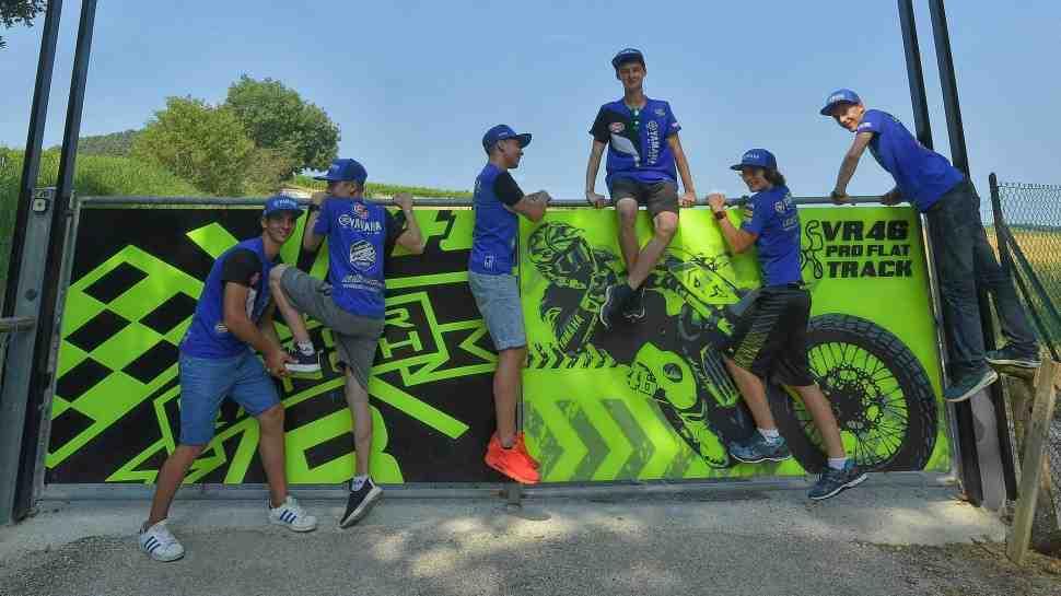 Никита Калинин и пилоты Yamaha bLU cRU пройдут подготовку у Валентино Росси