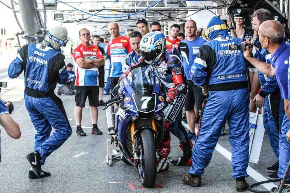 EWC: 8 часов Slovakia Ring - поул-позиция у Yamaha Racing Austria